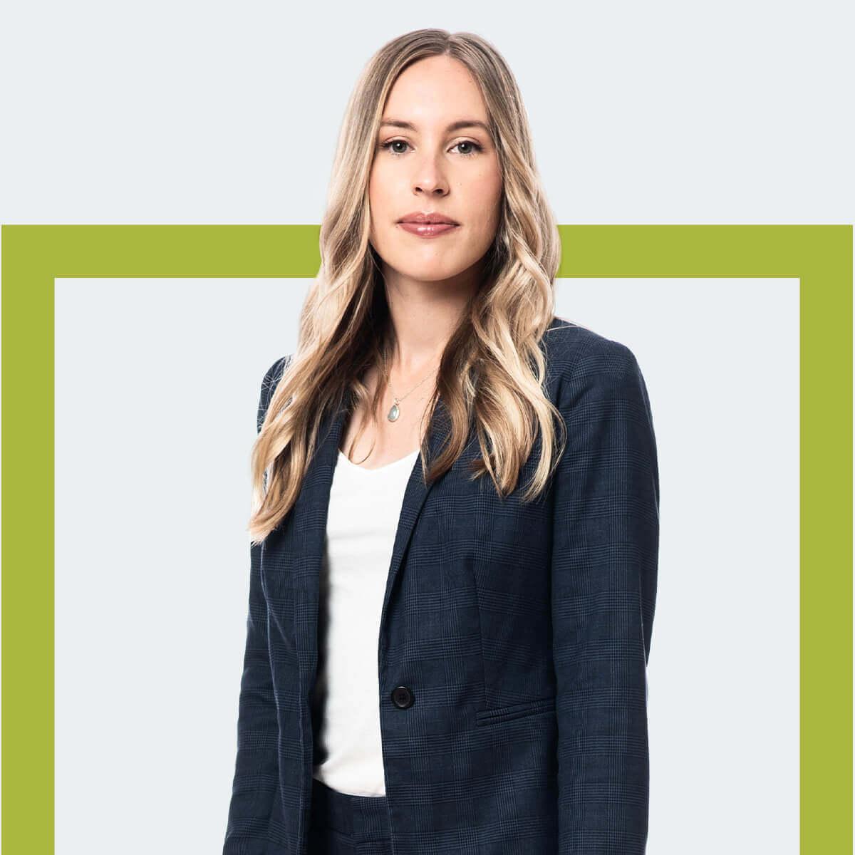 Renée Roy, avocate chez Fidelis Law Droit