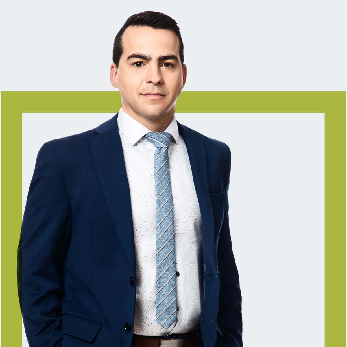 Justin Robichaud, associé chez Fidelis Law Droit